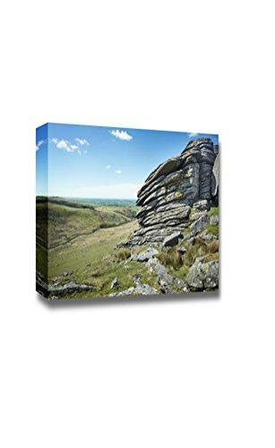 Beautiful Scenery Landscape Rugged British Terrain Landscape Dartmoor National Park Wall Decor ation