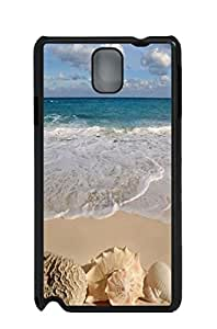 Mldierom Graphic PC Anti-Scratch Protection Designer Black Case for Galaxy Note3 Beautiful