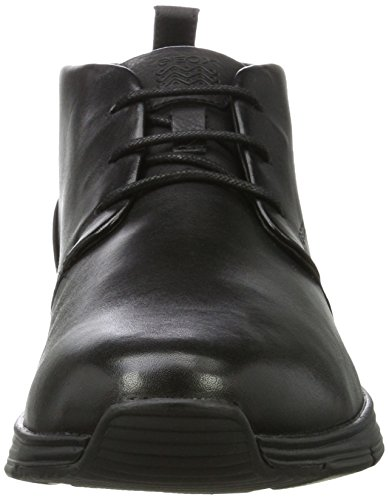 Geox Mens Snapish 7 Fashion Sneaker Nero