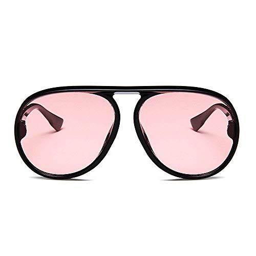Soleil Vent Femmes pour Cadre Les Classique en surdimensionné Plein Loisirs polarisé cerclée Conduite Pink air Hommes Pink Protection Couleur de Lunettes Coupe Rond Unisexe Joo UV Voyage qfTwxvXw