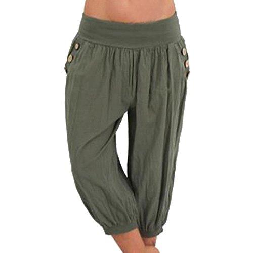 Aladdin Printemps Lin Shujin Baggy Grande Vert Pants Yoga Lâche Femmes Et Design Sarouel Taille Été Casual Harem Pantalon Xxaxw4