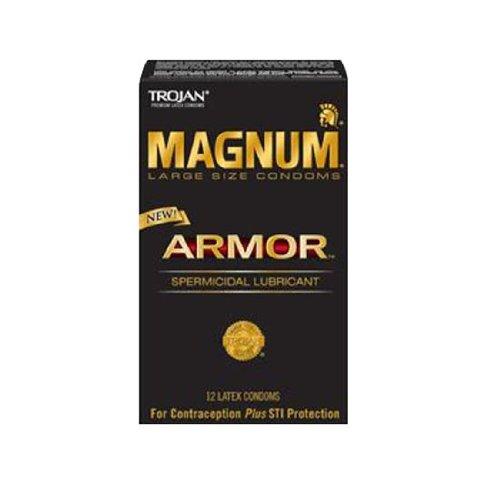 Trojan Magnum Armure 12PK (paquet de 5)