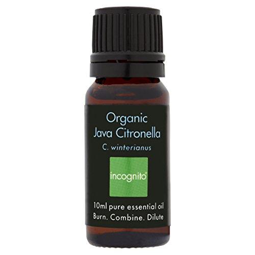 Incognito Incognito Organic Java Citronella Essential Oil (10ml)