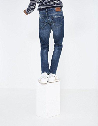 Straight 1720 Blu Celio Stone Uomo Jeans double wqpq5Pxf