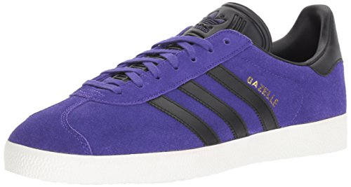 adidas Originals Gazelle Sneaker,Energy Ink/Black/Metallic Gold,7 Medium US