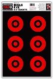 Halo Bullseye 6-4 Inch - Reactive Splatter Gun Range Shooting Targets 12.5x19 Inch (10 Pack)