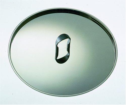 (Alessi La Cintura di Orione Lid, Stainless Steel, 24 cm, (90200/24))