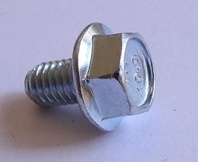 (25) M6 - 1 0 x 10mm JIS Hex Head Flange Bolt - Small Head, Class 10 9 Zinc