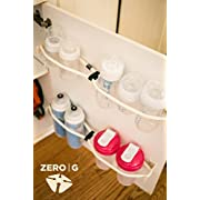 THE BOTTLE BOSS! End Bottle Clutter and Organize, Store and Access with This Neat and Tidy Storage Solution. Easily and Quickly Maximize Storage Space for Your Baby Bottles, Sport Bottles and more!