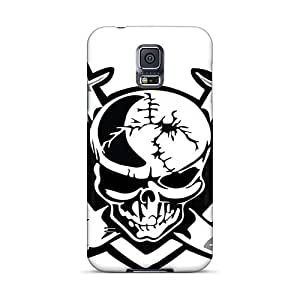 SherriFakhry Samsung Galaxy S5 Scratch Protection Phone Case Customized Colorful Metallica Pictures [Ckf16007ZaPY]