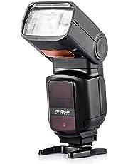 YONGNUO YN968EX-RT Flash Speedlite High-Speed Sync TTL met LED-licht voor Canon DSLR camera's met NAMVO diffuser