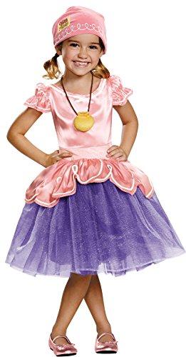 SALES4YA Toddler Izzy Tutu Deluxe Toddler Costume 3T-4T -