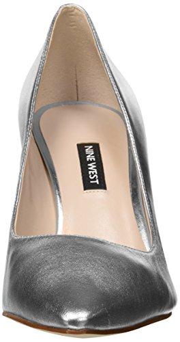 Metallic Emmala Pump Women's Nine West Silver 6TxtEFPwFq
