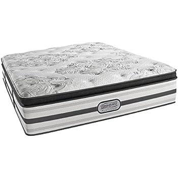 Amazon Com Simmons Beautyrest Silver Plush Pillow Top