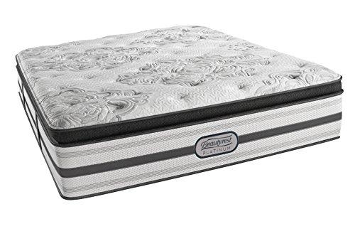 Beautyrest Platinum Plush Pillow Top Ledger, Cal King Innerspring Mattress