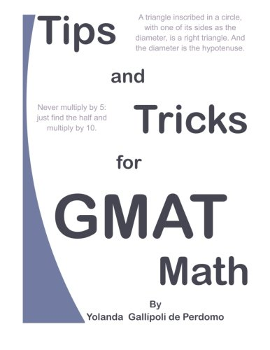 PDF] Download Tips and Tricks for GMAT Math By - Ms  Yolanda