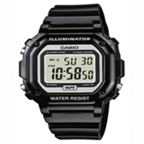 Casio F108WHC-1A Classic Square Digital Wristwatch Black consumer electronics Electronics (G Shock Gloss)