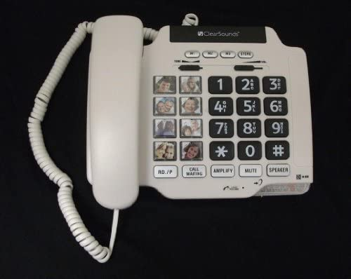 Big Button Telephones With Full Duplex Speakerphone 41arisOojZL