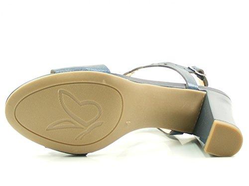 Caprice Kvinder 28312 Slingback Sandaler Blå t9rM1xhs9O