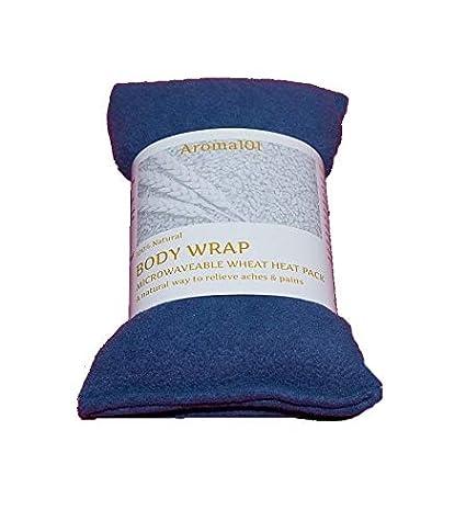 Bolsa de trigo sin perfume y perfumada, para microondas ...