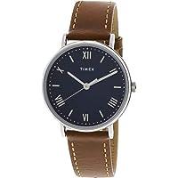 Timex Men's Southview TW2R63900 Silver Leather Japanese Quartz Dress Watch