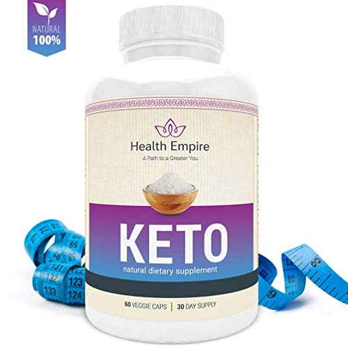 Keto Supplement 800mg for Ketogenic Weight Loss Diet - 60 Keto Diet Pills - Support Healthy Metabolism, Increase Energy - Fat Burn Supplement - Non GMO & Gluten Free - 30 Day Supply - Made in USA