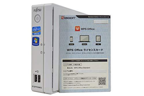 【人気No.1】 デスクトップパソコン【OFFICE搭載】 富士通 FMV ESPRIMO 2120T B07JQ6DC3P B531 第2世代 Core 7 i3 2120T 4GB/160GB/ドライブ非搭載/Windows 7/ 64bit32bitDtoD リカバリディスク作成機能 コンパクト薄さ53mm/軽量約1.3kg B07JQ6DC3P, コサザチョウ:160d0812 --- arianechie.dominiotemporario.com