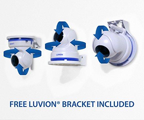 Luvion 71 Supreme Connect - Dispositivo digital de vigilancia audio y vídeo para bebés (pantalla a color de 4,3 pulgadas, modo dual con Wi-Fi opcional, ...