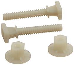 Ez-flo 40210 Nylon Closet Bolt-pair