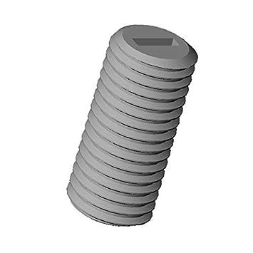 Zylinderschraube mit Schlitz 20 St/ücke M2.5 L/änge L = 8 mm ajile Isolierend Polyamid PA6.6 Plastik Nylon