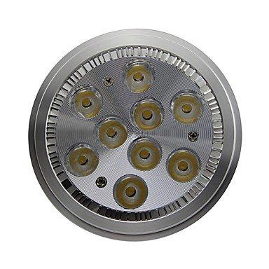 Dimmable AR111 GU10 9W 990LM 6000K Cool White Led Spot Lamp Light(AC100-130V) (130v Spot)