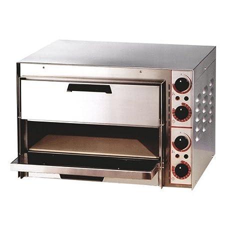 Horno para pizza eléctrico 2, 4 kW 410 mm: Amazon.es