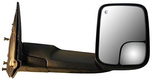 Power Remote Foldaway Heated Black CIPA 46503 Dodge Passenger Side Original Style Replacement Mirror