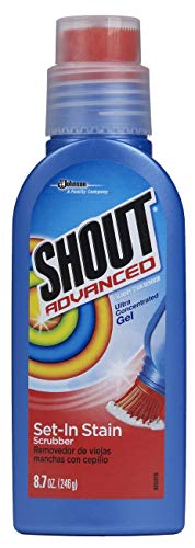 Shout Advanced Ultra Concentrated Gel Set-In Stain Brush Laundry Stain Remover , 8.7 oz