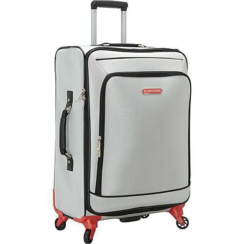 swiss-cargo-petra-24-spinner-luggage-silver-black