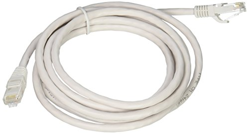 C2G/Cables to Go 04037 Cat6 Snagless Unshielded (UTP) Network Patch Cable, White (8 Feet/2.43 Meters) ()