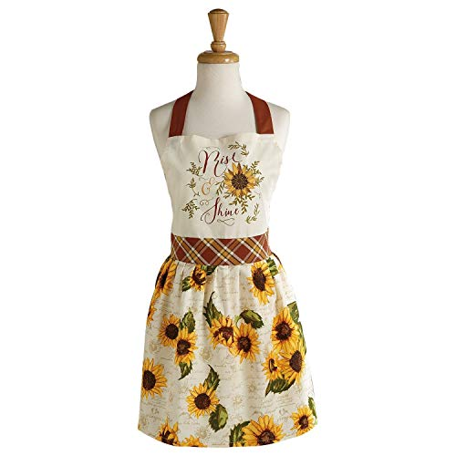 Apron Sunflower - DII Rise & Shine Printed Apron, Multi