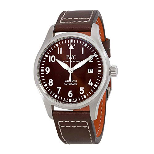 (IWC Pilot Mark XVIII Edition Automatic Brown Dial Men's Watch IW327003)