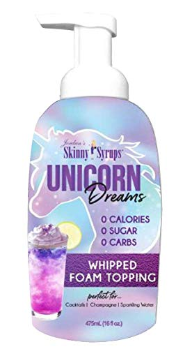 Jordans Skinny Gourmet Syrups Barista Style Whipped Foams (Unicorn)