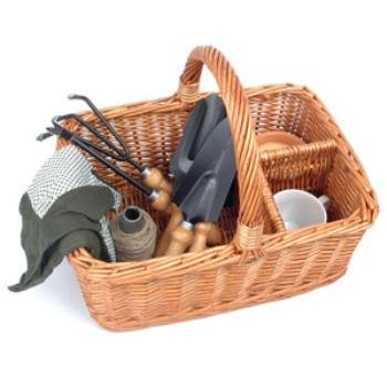 (Picnic & Beyond Willow Gardening Basket)