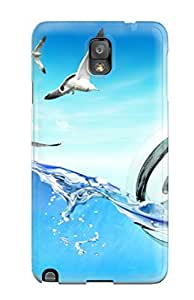 Best Note 3 Scratch-proof Protection Case Cover For Galaxy/ Hot Internet Sea Phone Case