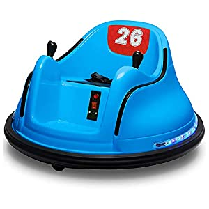 MYTZ Bumper Car for Kids, DIY Race Car for Boy Toy