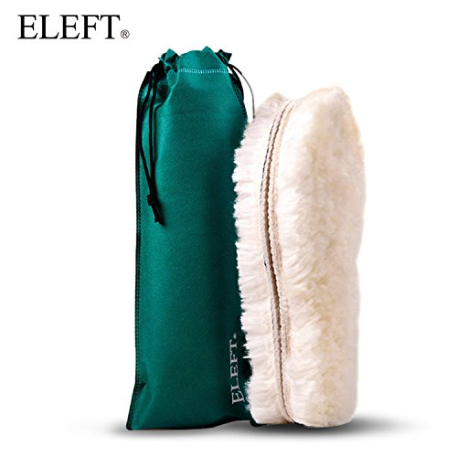 ELEFT Winter Fleece Wool Insole-Comfort Warm Thick Inserts, Heated Shoe Insoles, 2cm Thick Winter Warm Faux Wool Cozy Insoles for Unisex