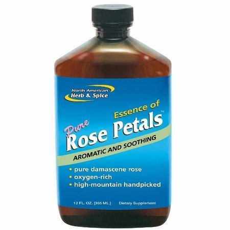North American Herb and Spice, Essence of Rose Petals, 12-Ounce (Rose Essence)