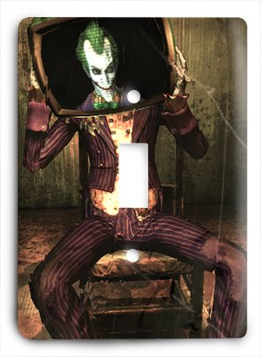 Light Joker Batman - Arkham Vintage Art - Batman Joker Light Switch