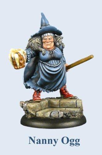 Discworld Miniatures 30mm Nanny Ogg