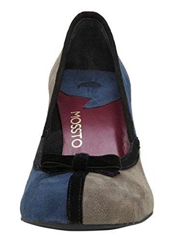 Bleu Mossto Femme Marine Blau Pour Escarpins Pumps S8qzO14