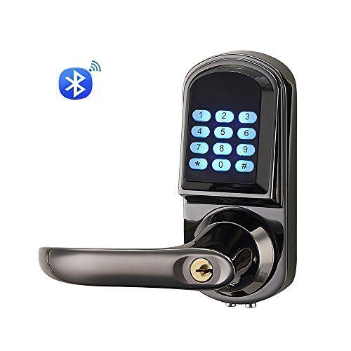 HAIFUAN Bluetooth Electronic Keyless Code Door Lock,Unlock With Code, app on Smart Phone, And Mechanical Key (Bluetooth Version) Guangzhou Onlense Science & Technology Co., Ltd.