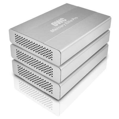 OWC Mercury Elite Pro mini 2.5'' bus-powered portable FW800/400 + USB3.0 drive enclosure kit by OWC
