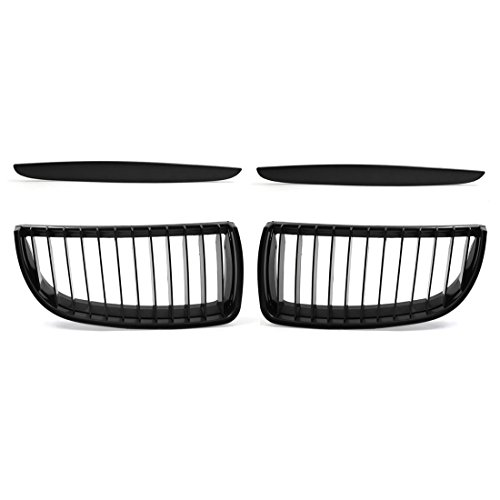 - uxcell Car Matte Black Front Hood Kidney Grille Grill fit BMW E90 325i 328i 328xi 335i 335xi 330i 330xi